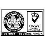 ISO 9001-2000 Logo [AJA-UKAS]