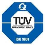 TUV Logo [ISO 9001]