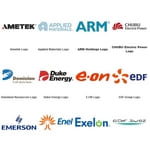 Electrical and Electronic Company Logos (Utilities, Equipment, Semiconductors)